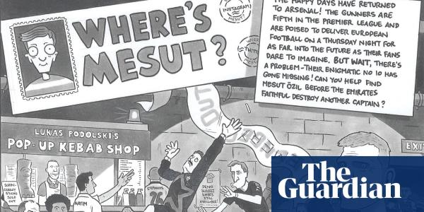 David Squires on … wheres Mesut?