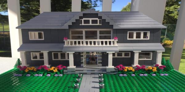 You Can Now Buy A Lego Replica Of Your Own Home – But Itll Cost You