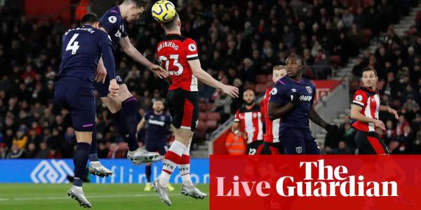 Southampton v West Ham: Premier League – live!
