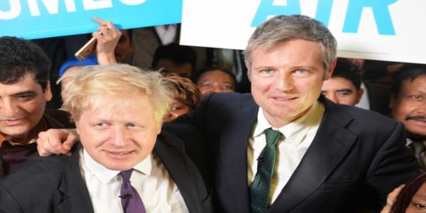 Boris Johnson Warned Against Giving Zac Goldsmith A Peerage After Election Defeat