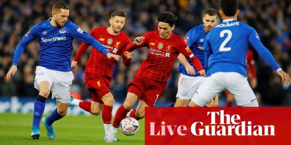 Liverpool V Everton Fa Cup Third Round Live