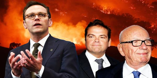 James Murdoch Slams Fox News and News Corp Over Climate-Change Denial