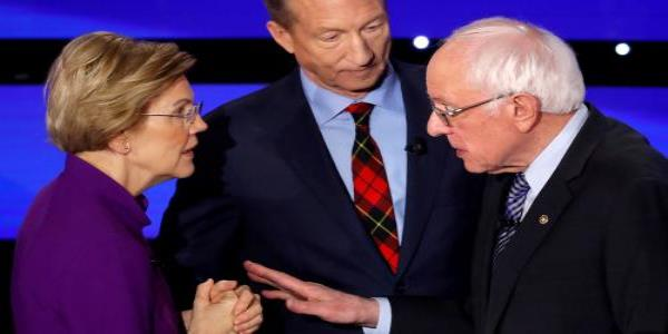 You called me a liar on national TV: audio released of testy Warren-Sanders exchange