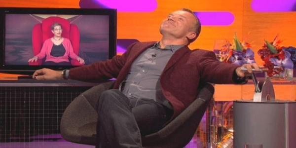Graham Norton Reveals Secret Covid Makeover To His Big Red Chair – But You Wont Have Noticed