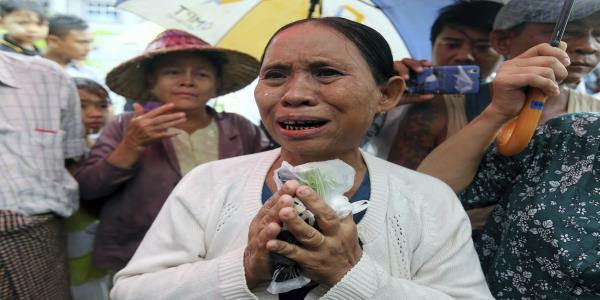 Mother in Myanmar girl rape case says wrong man charged