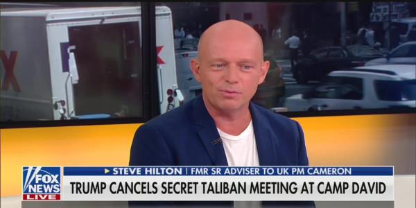 Fox News Host Steve Hilton Blasts Liz Cheney: Your Dad 'Literally' Killed Millions
