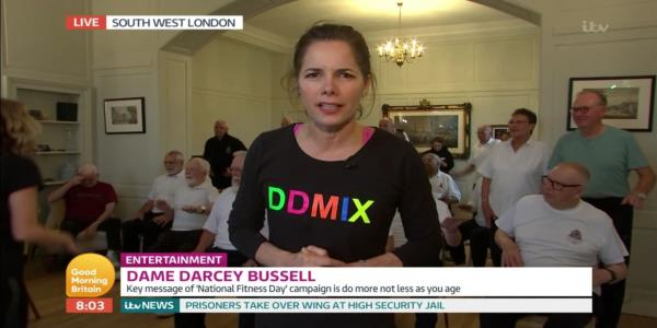 Darcey Bussell Was In No Mood To Discuss Strictly Come Dancing On Good Morning Britain