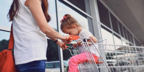 This Mums Genius Hack Will Make Supermarket Shopping With Kids That Little Bit Easier