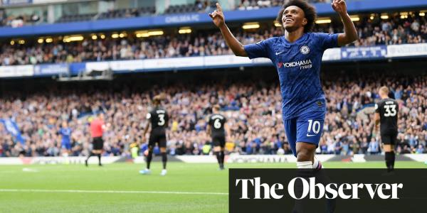 Willian's deflected effort seals deserved win for Chelsea over Brighton