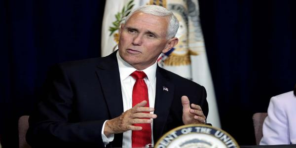 Pence going after Democrats over impeachment — in their districts