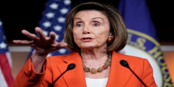 Pelosi: Trumps insecurity as an impostor drives his Twitter attacks