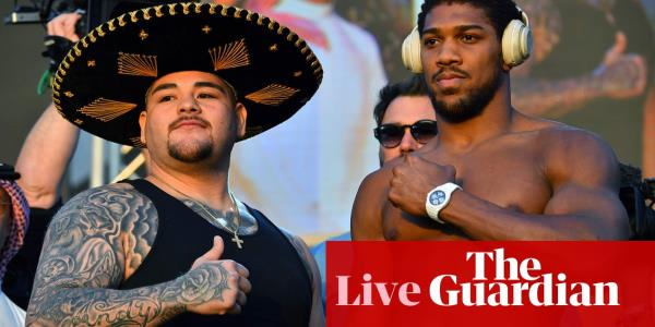 Anthony Joshua v Andy Ruiz: world heavyweight boxing rematch – live!