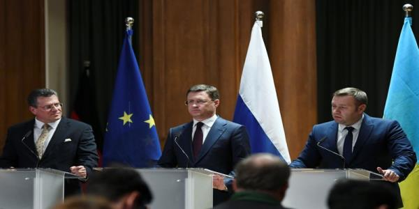 Russia, Ukraine, EU agree in principle on new gas deal: EU official