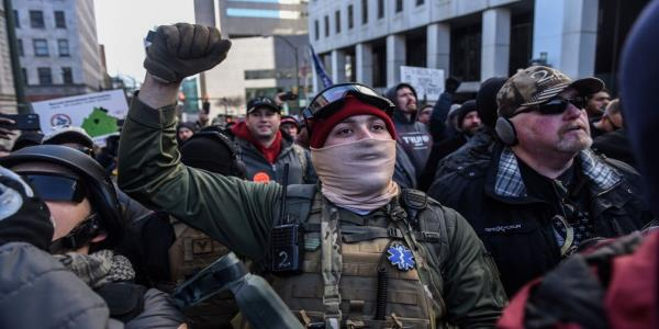 White Nationalists Arrested ahead of Richmond Rally Planned to Kill Gun-Rights Demonstrators to Spark Civil War