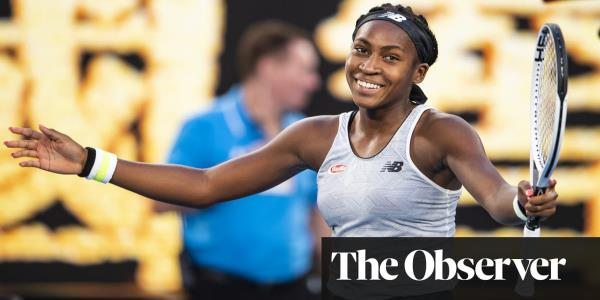 Australian Open gripped by Cocomania as Gauff backs up the hype