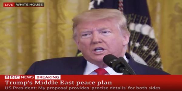 Former U.S. diplomat thinks Trumps Middle East peace plan will deepen Israel-Palestine conflict