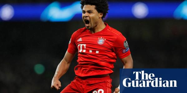 Serge Gnabry scores four in brutal Bayern's 7-2 humiliation of Tottenham