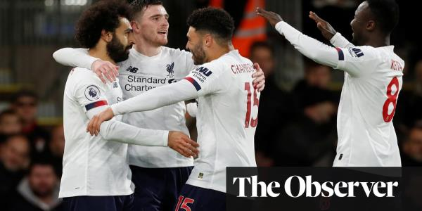 Liverpool go 11 points clear as Mohamed Salah seals win over Bournemouth