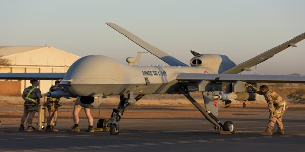France says it carries out first armed drone strike in Mali