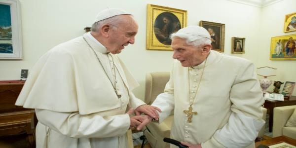Ex-pope Benedict rejects opening up priesthood to married men