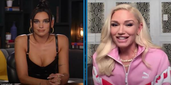 Dua Lipa's Face Says It All After She Makes Awkward Gaffe During Gwen Stefani Interview