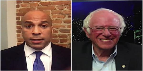 Sens. Bernie Sanders and Cory Booker pick their worst parts of Trumps embarrassing debate performance